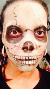 Skull Makeup: Why My First Attempt Ever Beats Makeup School - NewtoMakeupEffects.com
